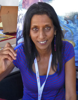 Author Shoba Sreenivasan